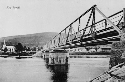 INNBYGDA, KIRKEBRUA OVER TRYSILELVA , STEMPLET 1919