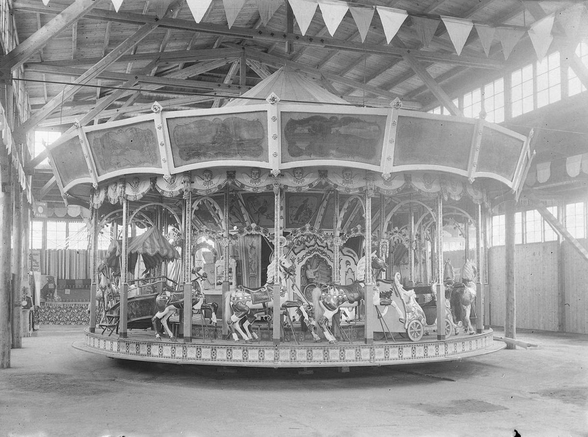 Karusell på Seilforeningens marked på Skansen