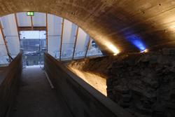Vernebygg ved Drengestua på Hedmarksmuseet, Domkirkeodden, H
