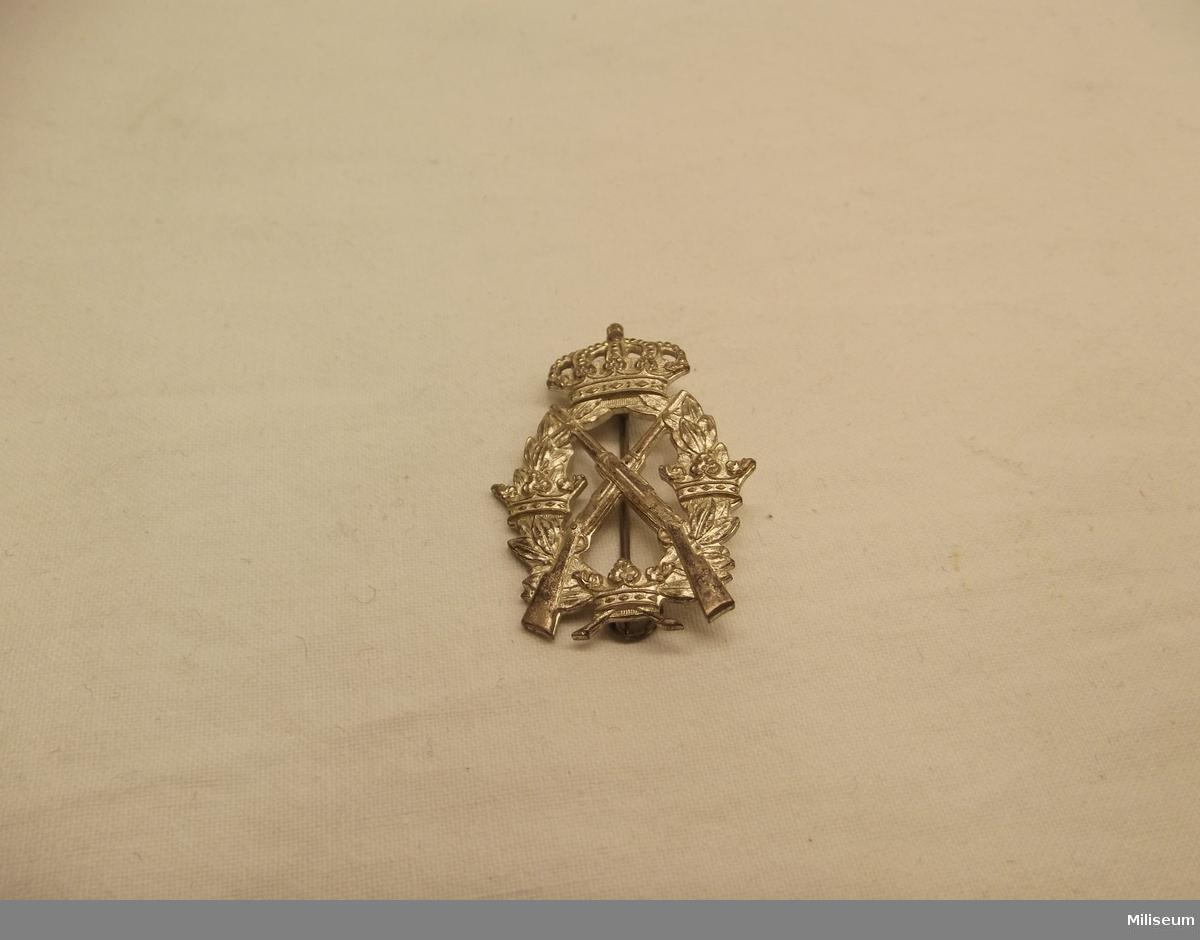 Arméns skyttemärke i silver