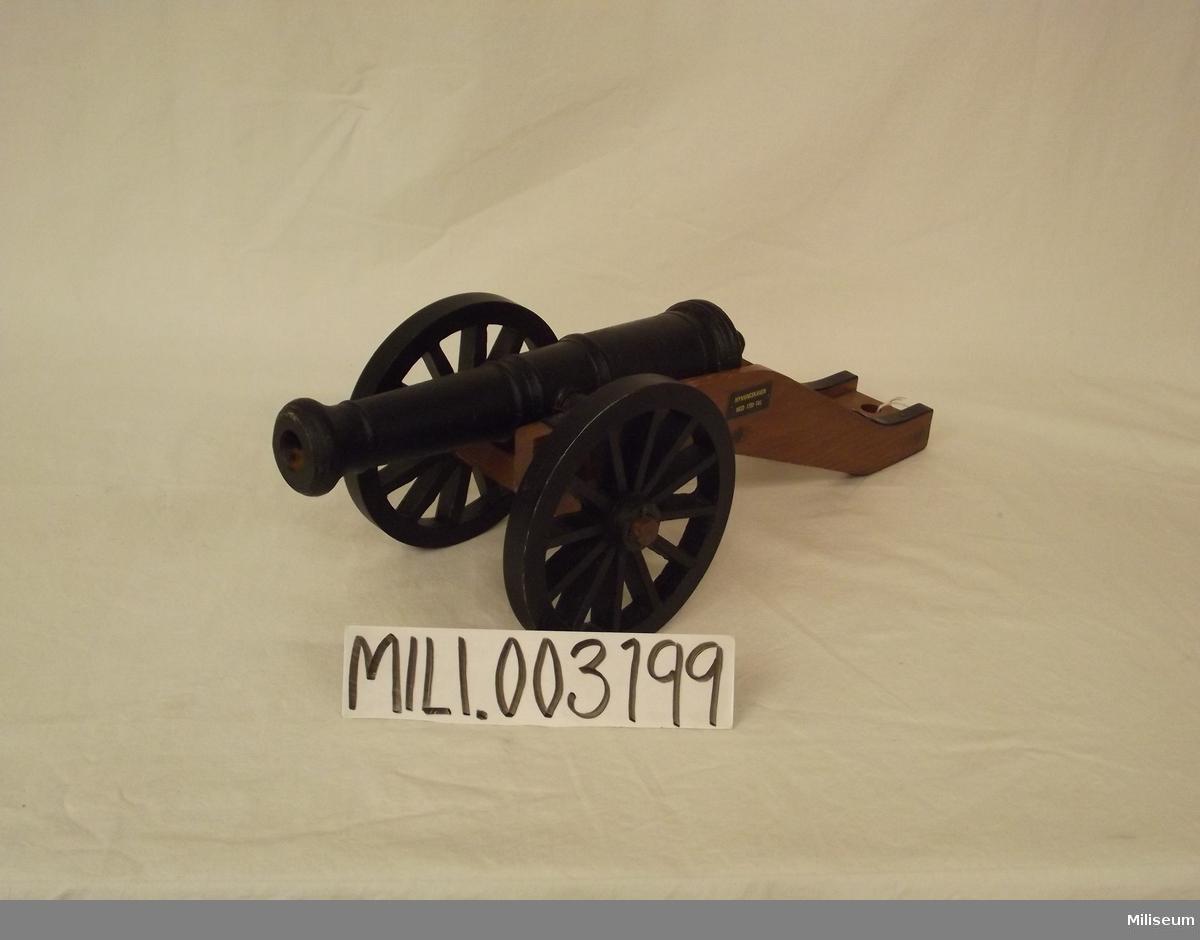 Mynningskanon, modell 1700-tal
