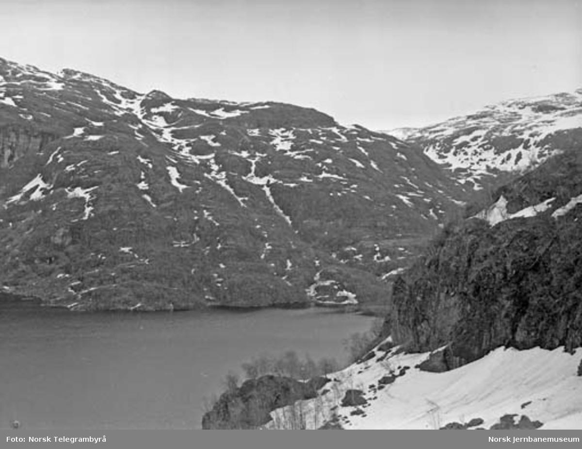 Profilvognkjøring på Bergensbanen : utsikt fra Bergensbanen