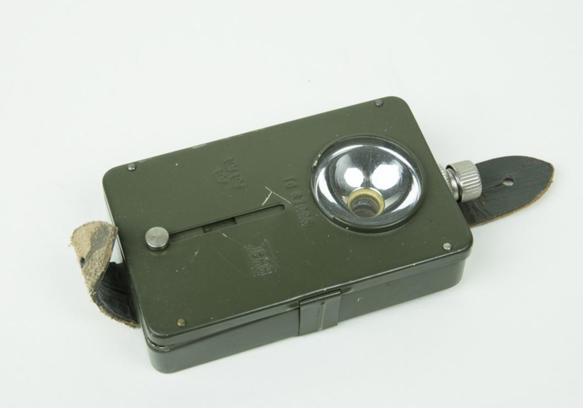 Ficklampa Td 87095. Namn:  JEAB. Försedd med spjäll för avbländning