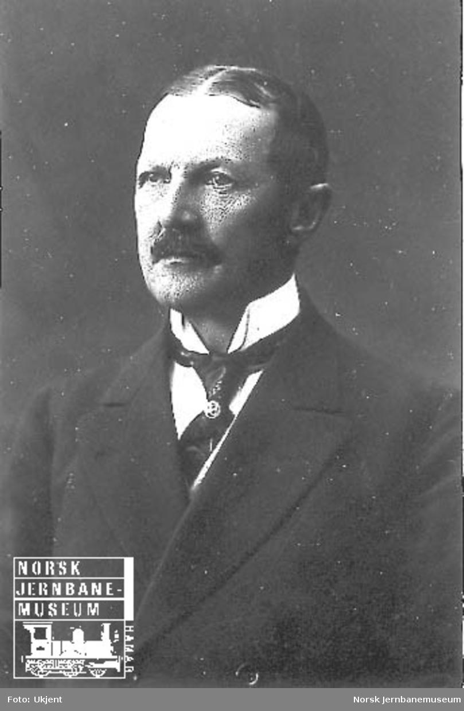Portrett av generaldirektør Christian Theodor Holtfodt