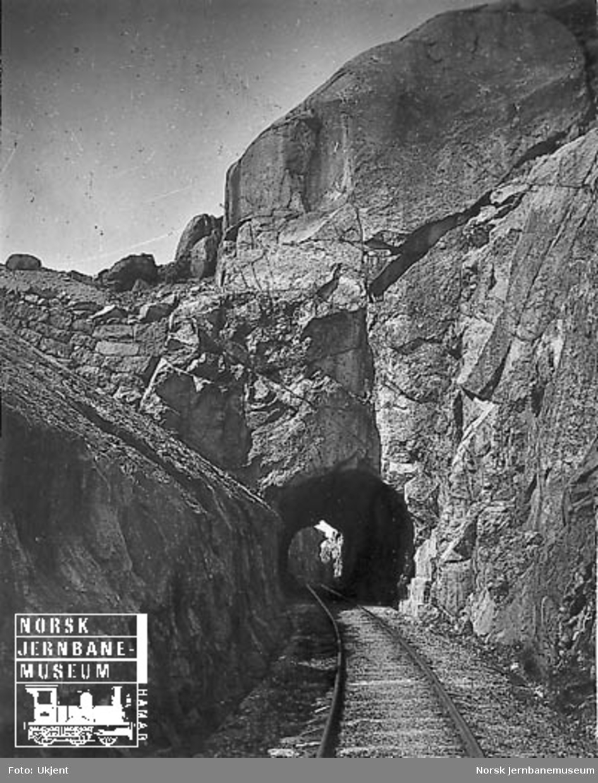 Maurholen tunnel km 69,59 på Jærbanen
