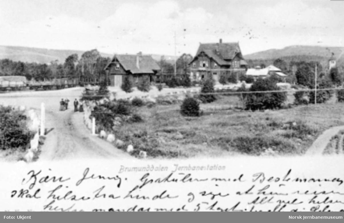 Brumunddal stasjon