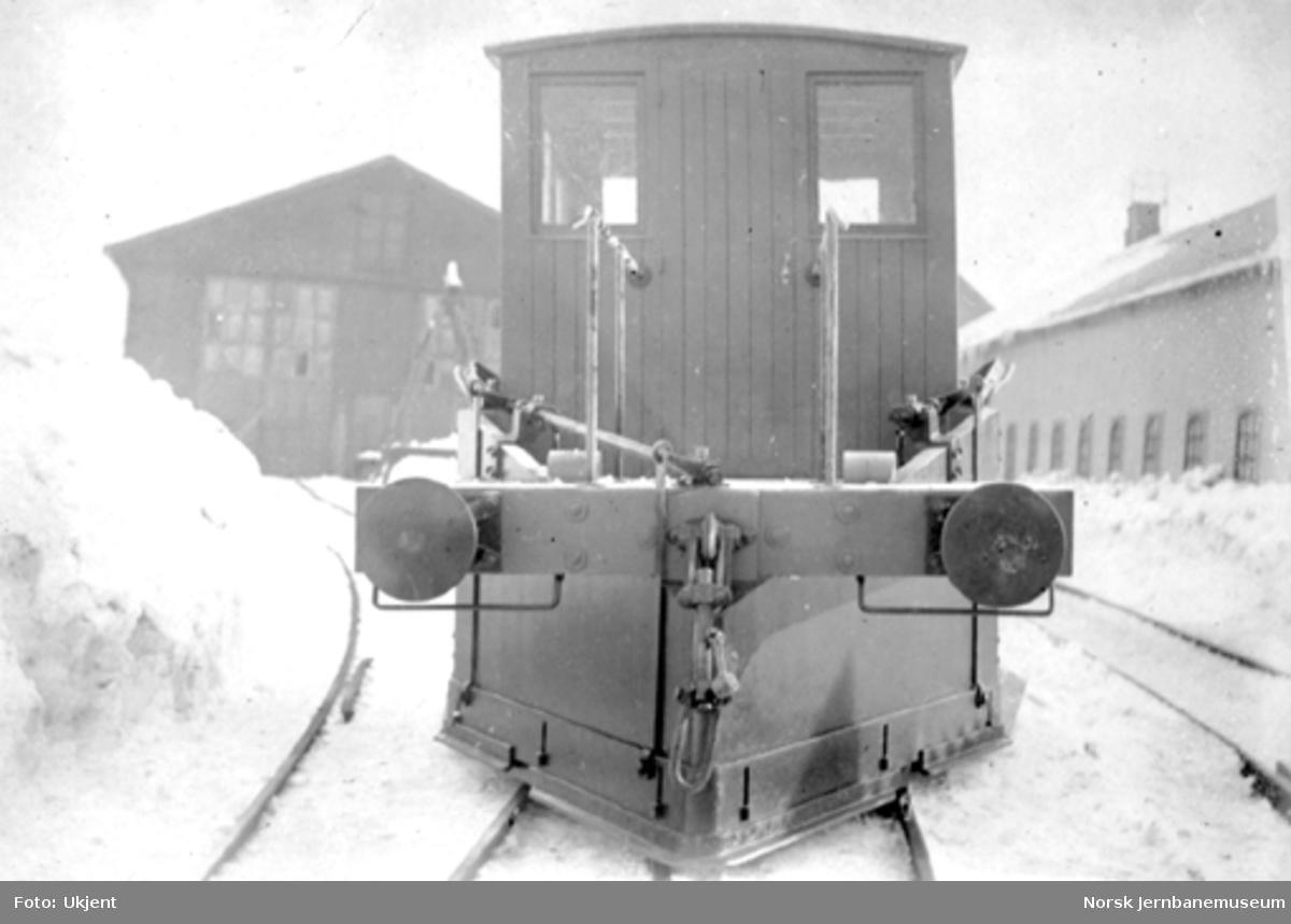 Sporrenser til Ofotbanen, som ny fra Strømmens Værksted
