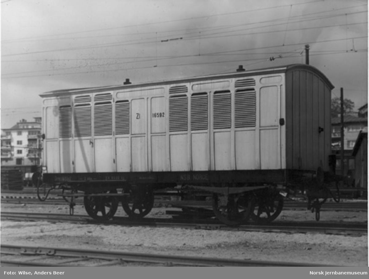 Likvogn litra Zl nr. 16592