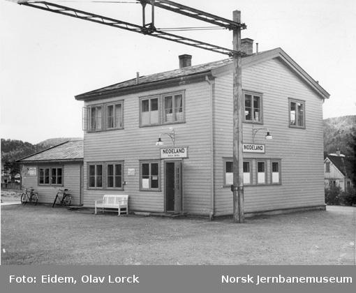 Nodeland stasjonsbygning