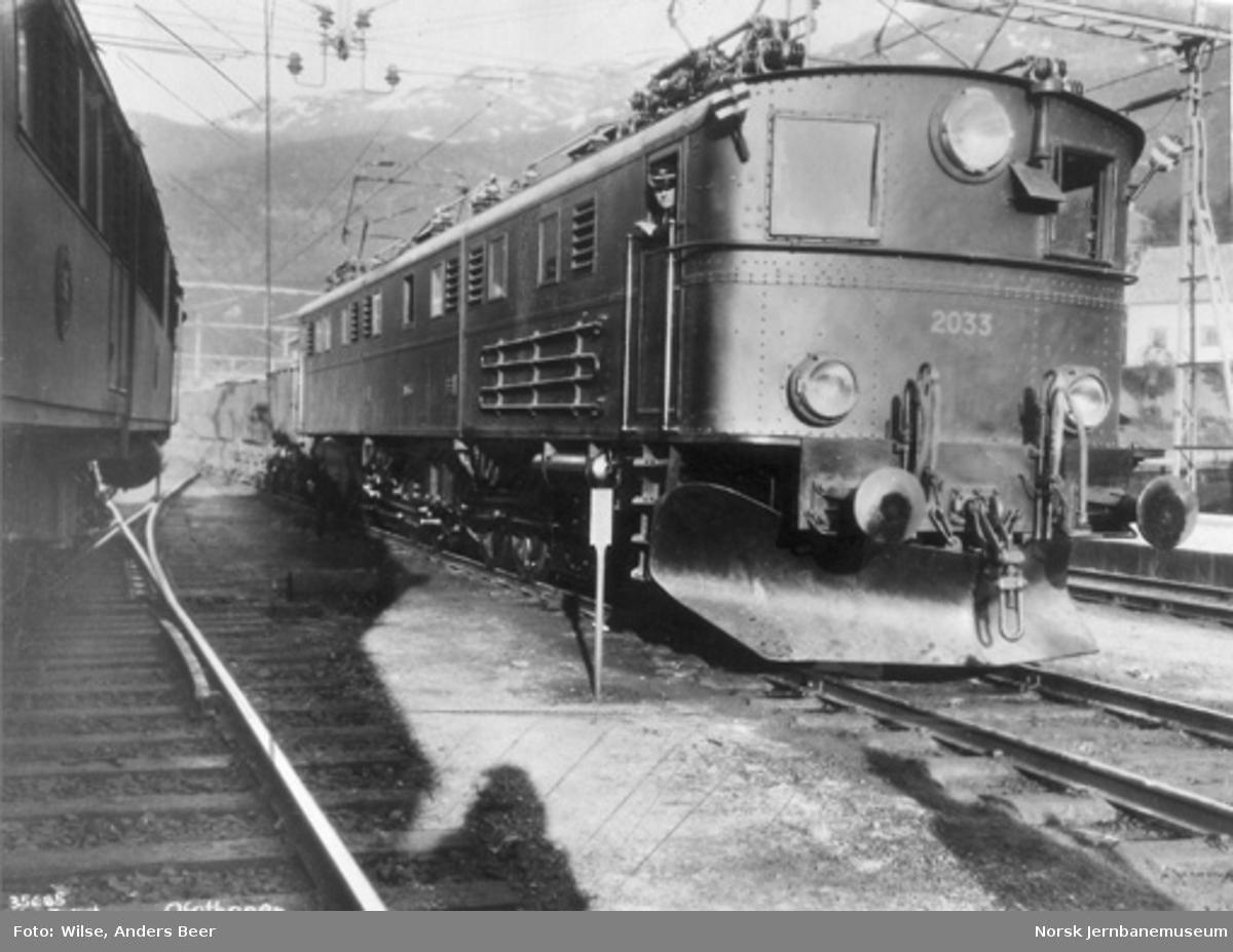 Elektrisk lokomotiv El 4 nr. 2033