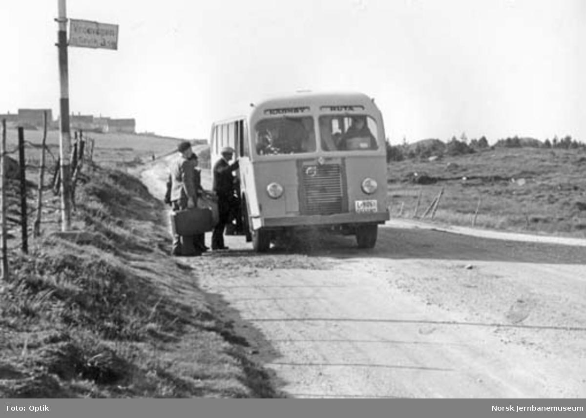 NSB Karmøyruta : stoppested