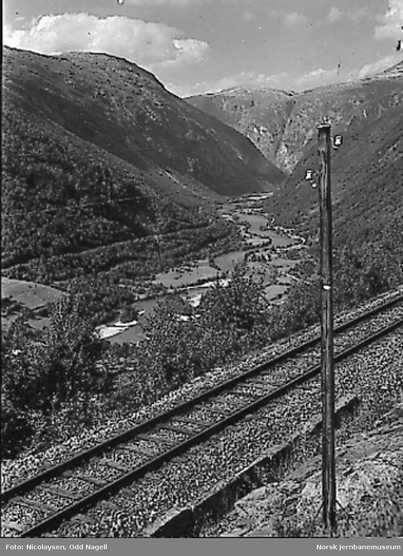 Parti fra Romsdalen ovenfor Vendetunnelen