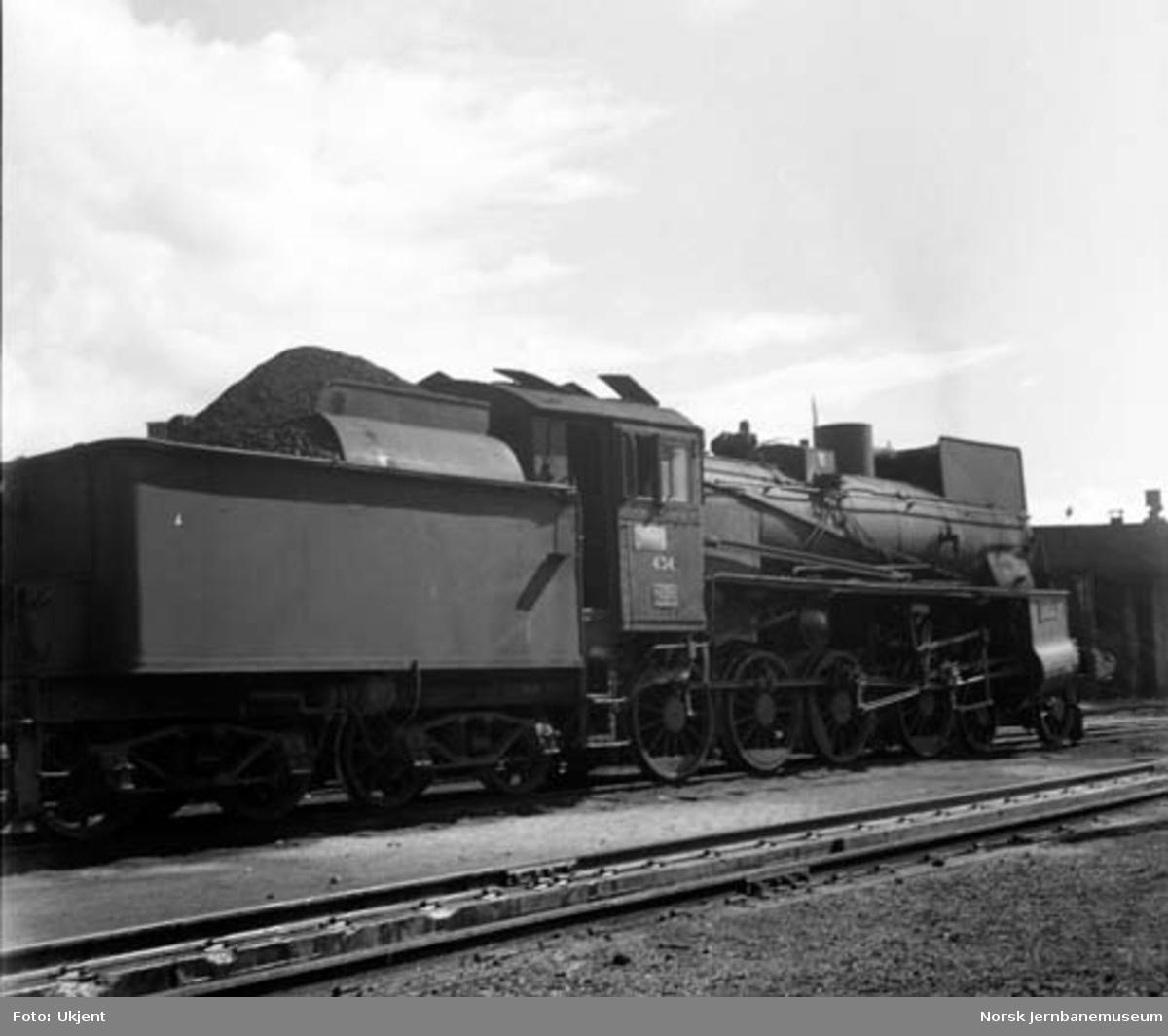 Damplokomotiv type 26c nr. 434