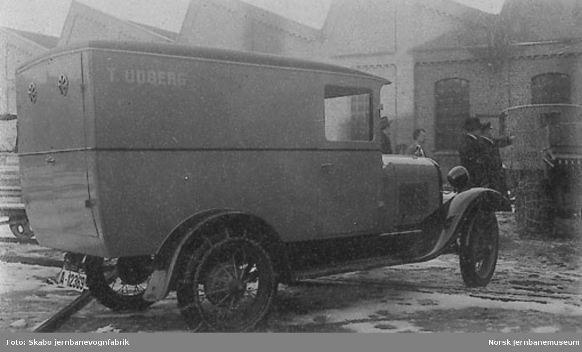 Ford varebil T. Udberg A-12369