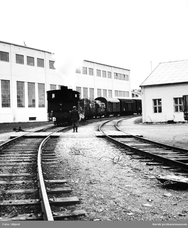 Skifting på Ranheim Papirfabrik