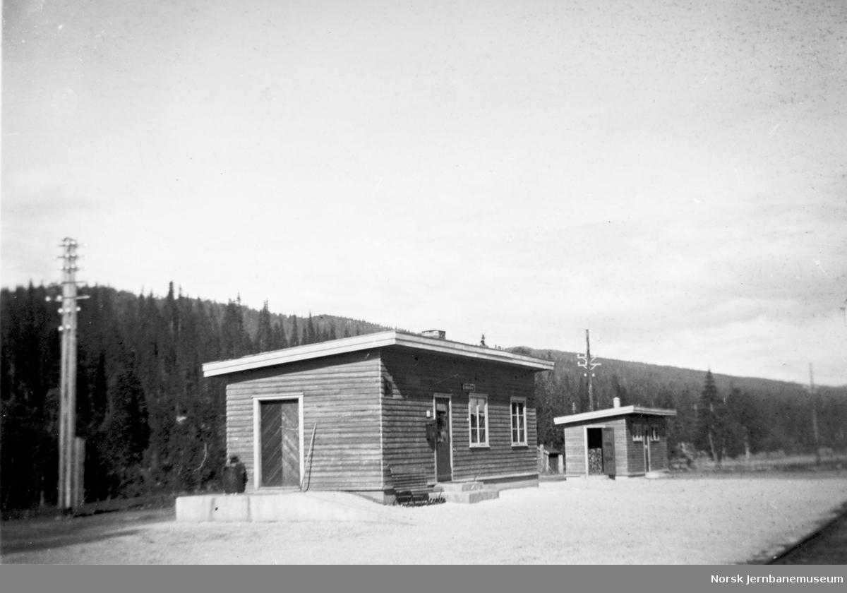Aunfoss stasjon