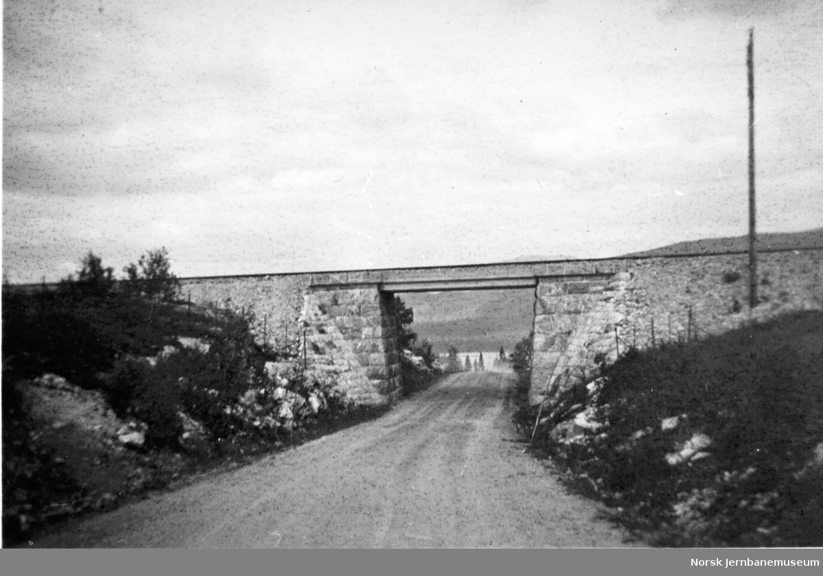 Undergang for riksvegen ved Sefrivatn