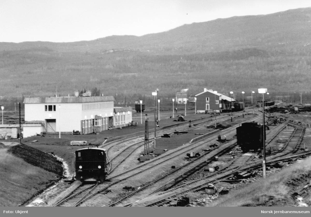 Fauske stasjon, oversiktsbilde