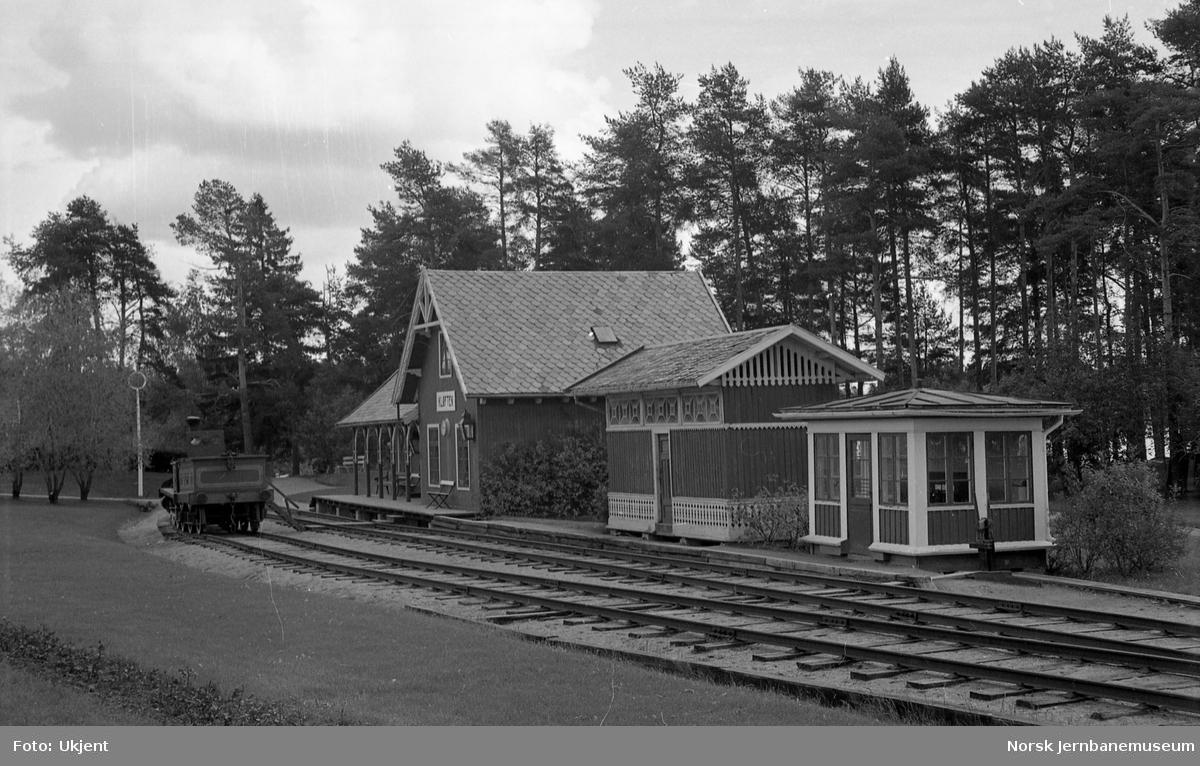 Jernbanemuseet med Kløften stasjonsbygning