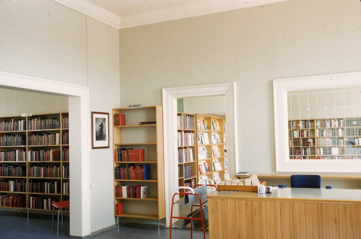 Biblioteket i Andorsen gården i Mandal.