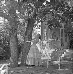 Serie. Solveig Borstad, Miss Norway 1955. Fotografert juni 1