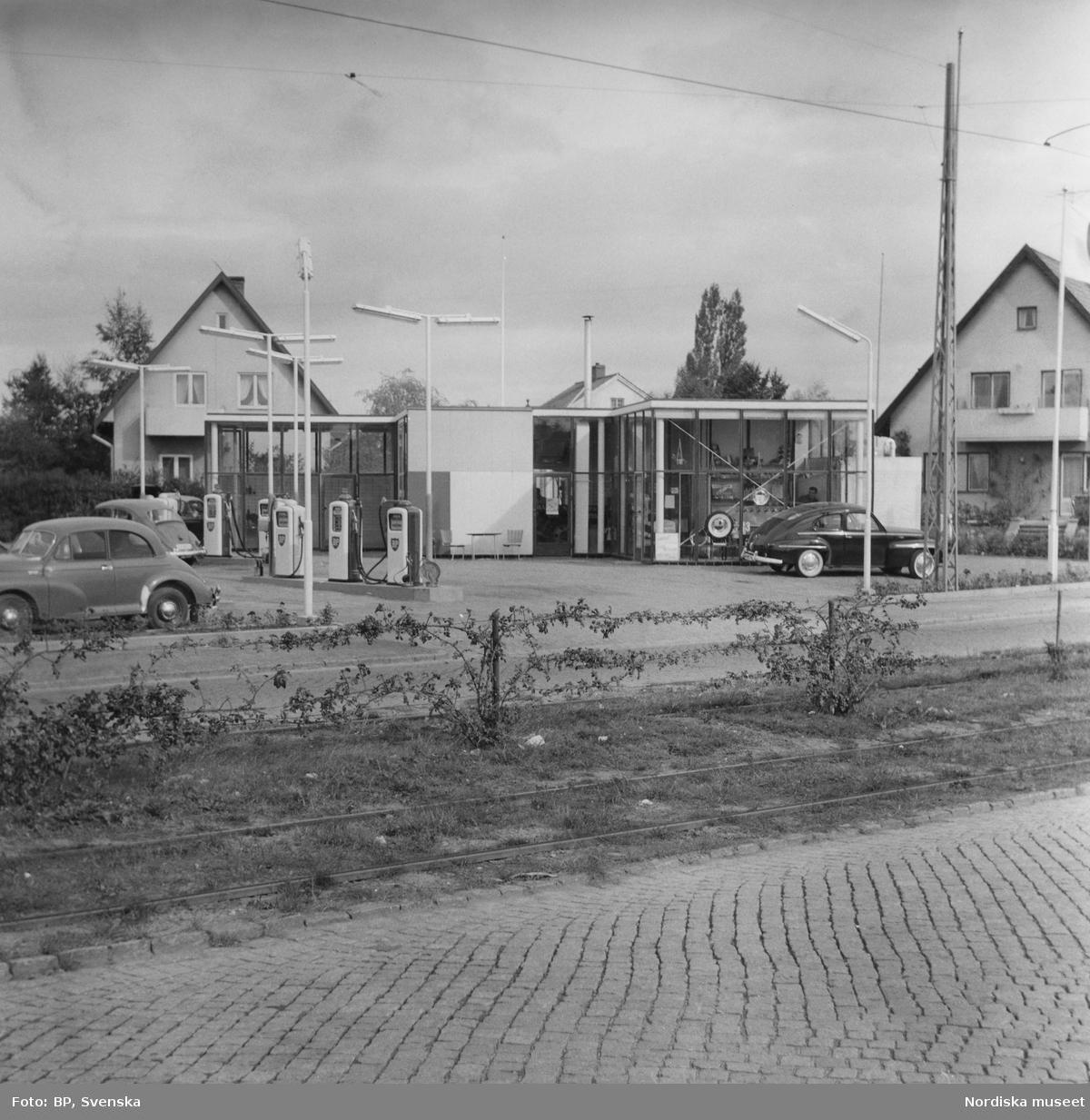 BP:s bensinstation på Linnégatan, Malmö.