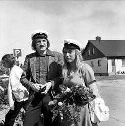 """""""Högtidsstunder i kyrkorna på Tierps skolavslutningar"""" - Tierps kommun, Uppland juni 1973"""