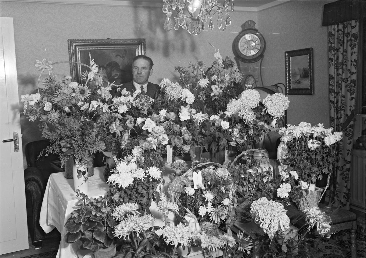Födelsedagsporträtt - man, Uppsala eventuellt 1943