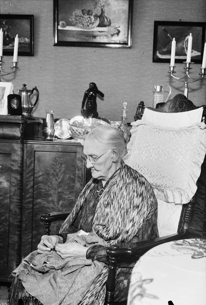 Åldrig kvinna i hemmiljö, Uppsala 1937