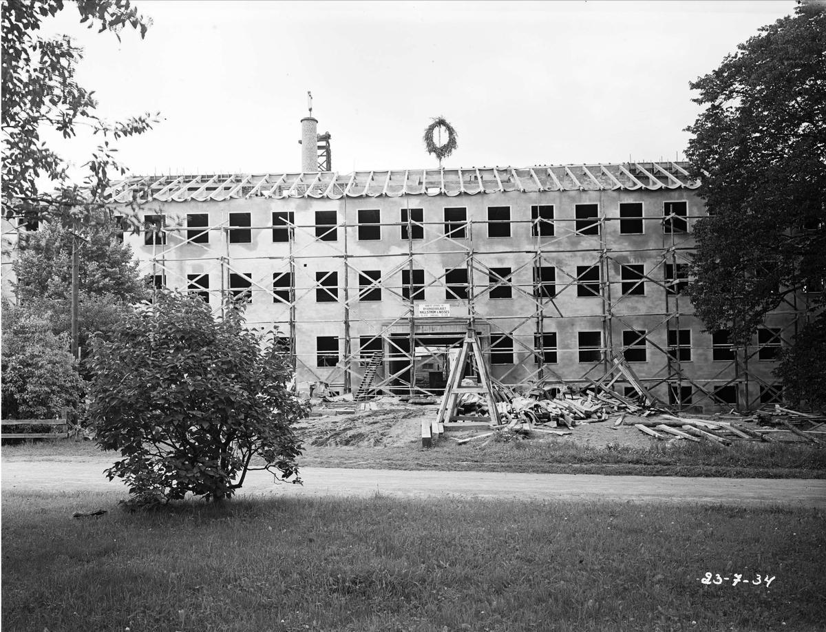 Bygge i Uppsala 1934