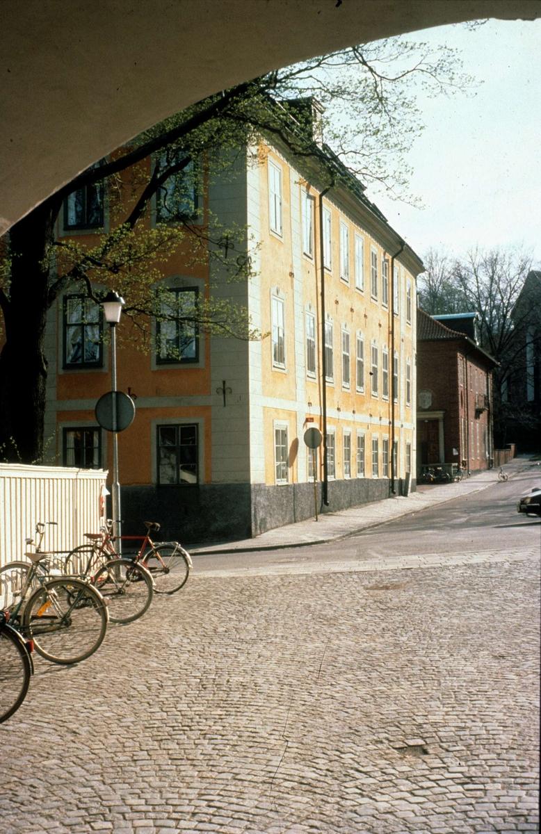 Oxenstiernska huset, Riddartorget, Uppsala 1987