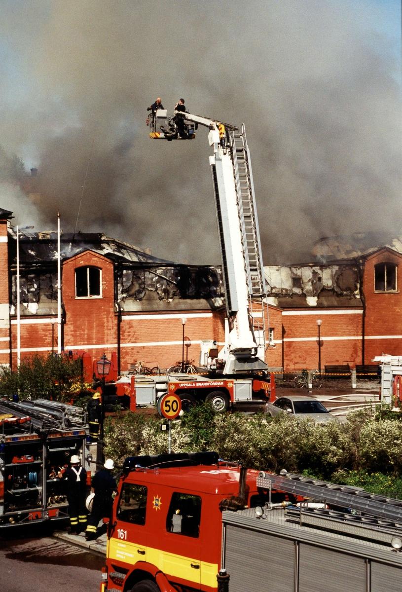 Saluhallsbranden, Uppsala 9 maj 2002