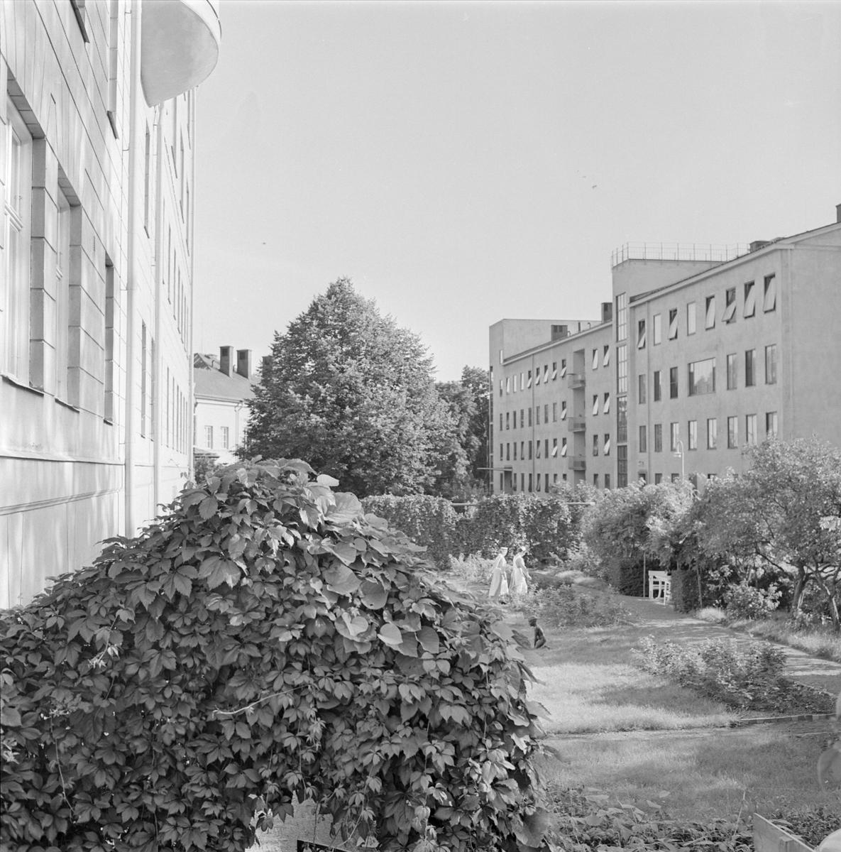 Akademiska sjukhuset, Uppsala 1958-1959