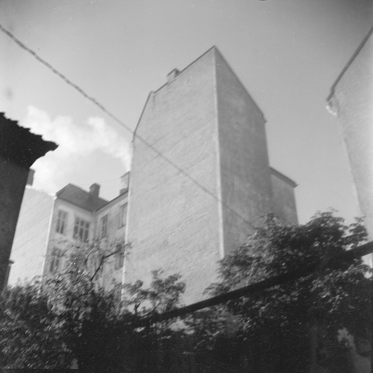 Bostads- och kontorsbyggnaden Skandalhuset, kvarteret Rosenberg, Fjärdingen, Uppsala