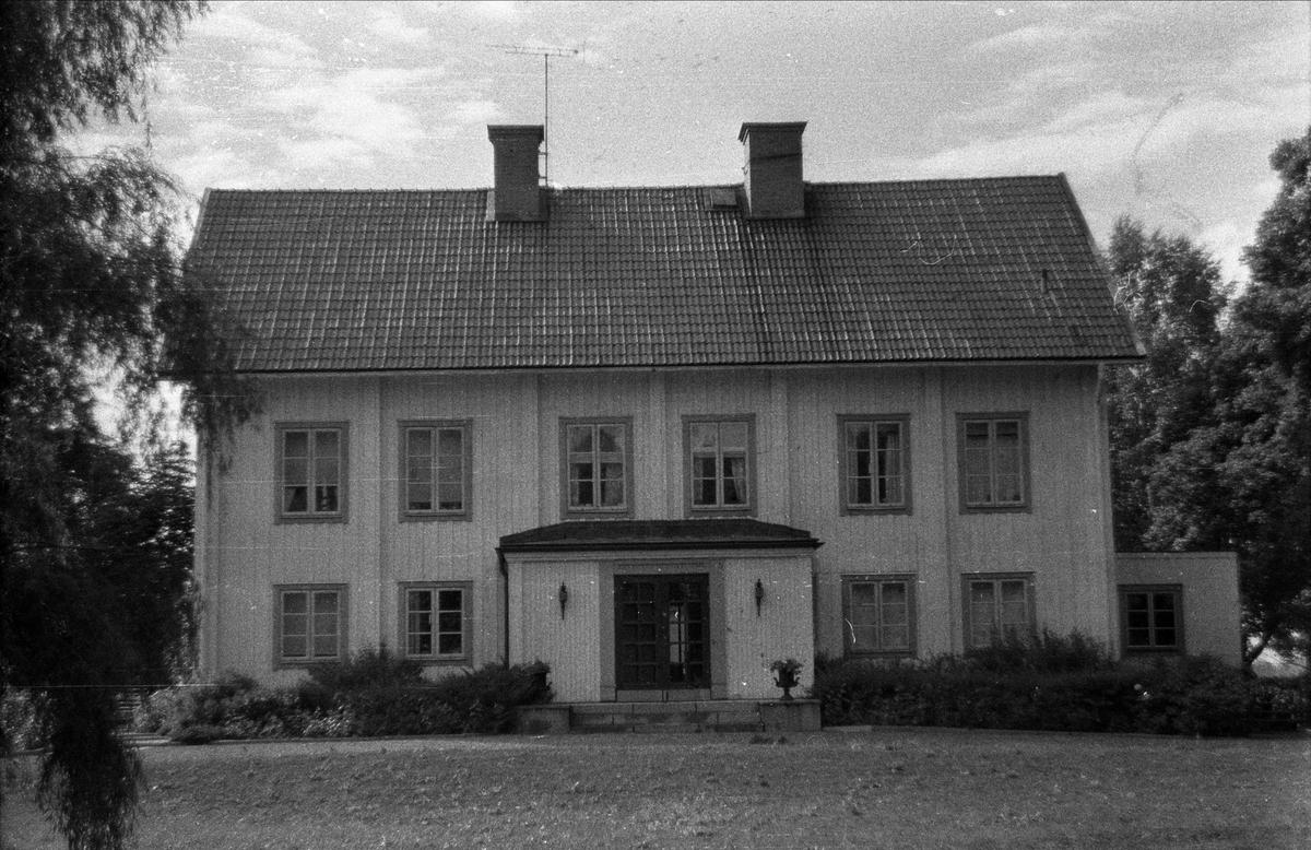 Mangårdsbyggnad, Fyrisvall 6:1, Ärentuna socken, Uppland 1976