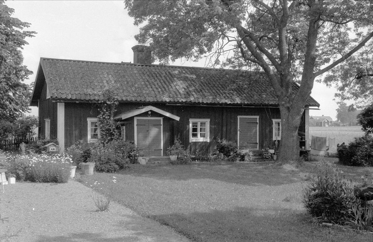 Bostadshus, Losgärde 2:1, Bälinge socken, Uppland 1976