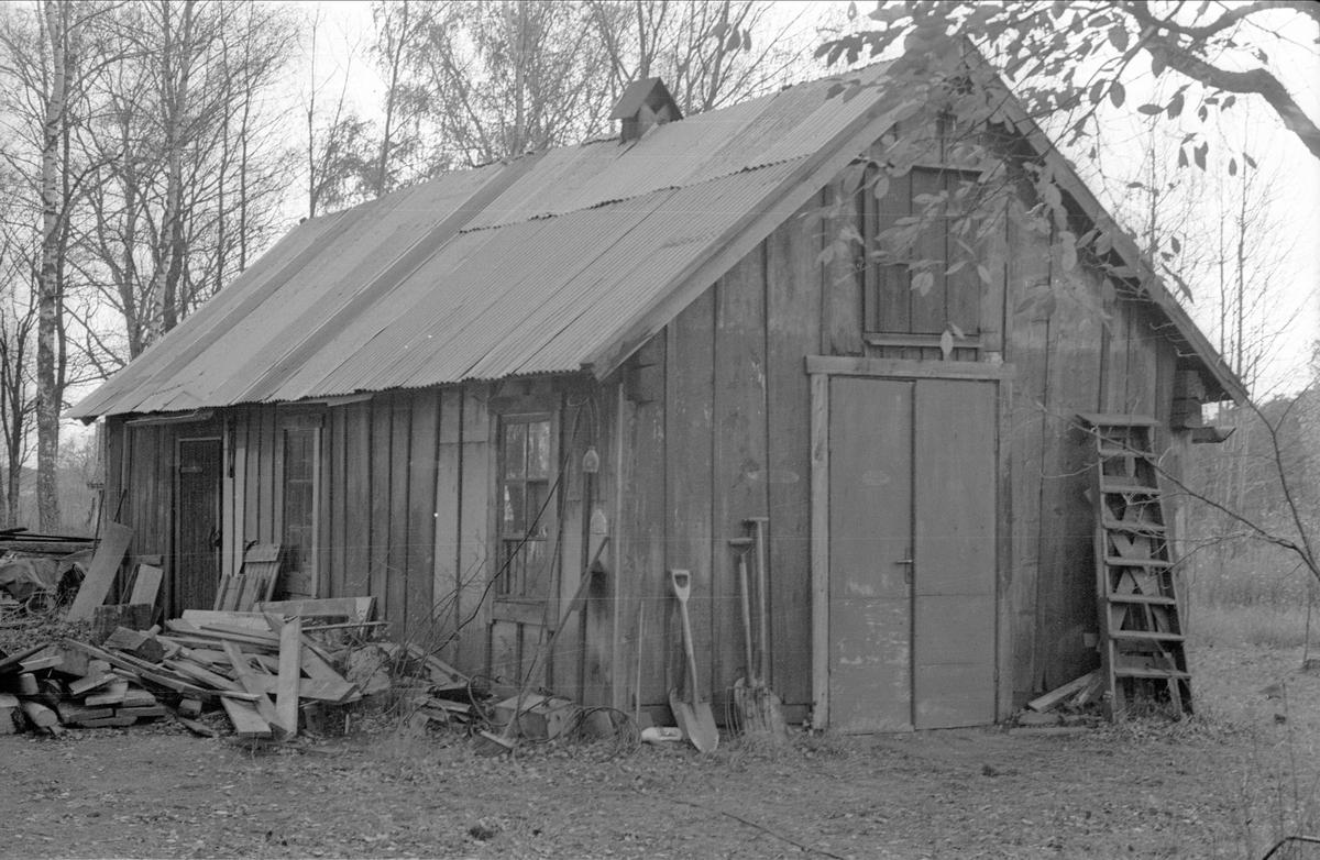 Före detta ladugård, Fullerö 18:7, Faxan, Gamla Uppsala socken, Uppland 1978