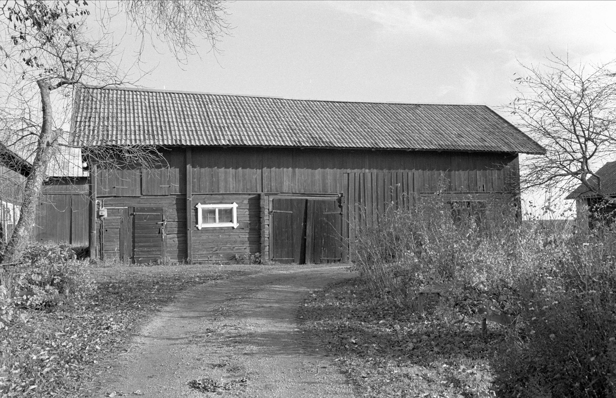 Lider/magasin, Svista, Bälinge socken, Uppland 1978