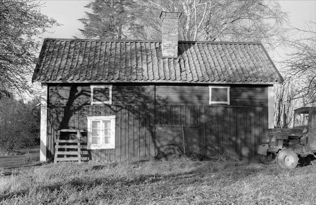 Brygghus/drängstuga, Svista, Bälinge socken, Uppland 1978