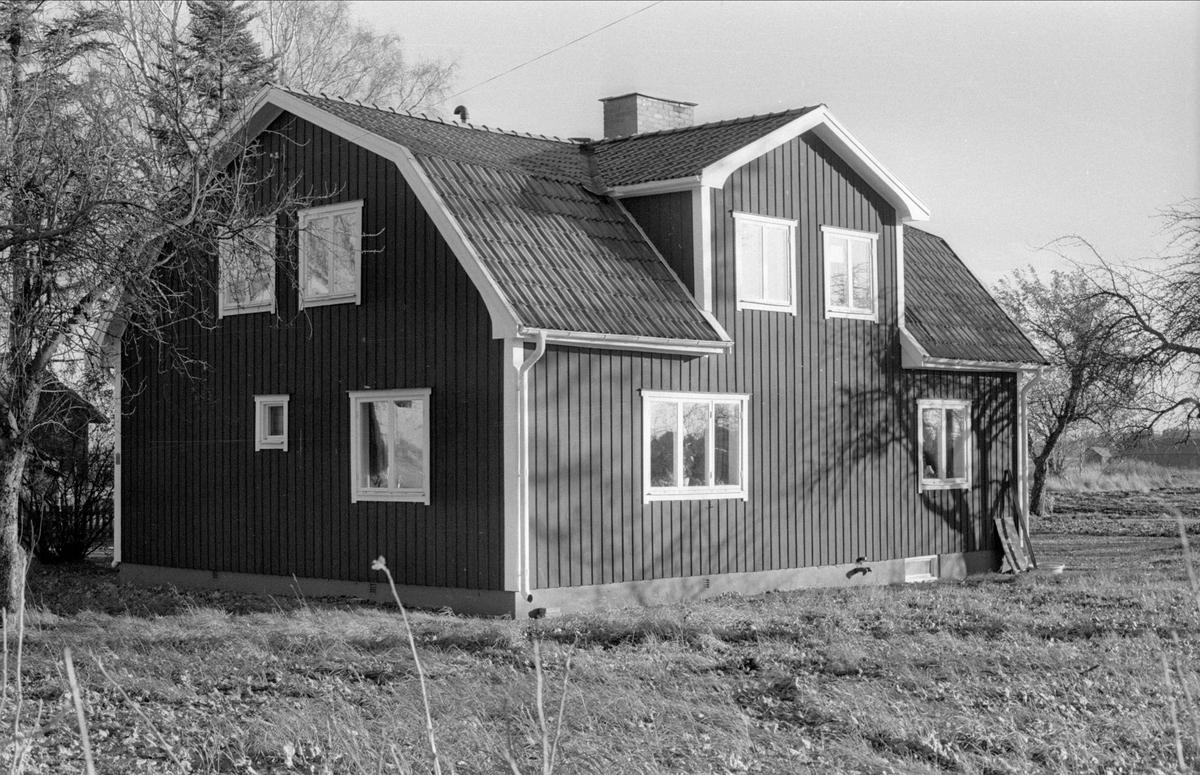 Mangårdsbyggnad/bostadshus, Svista, Bälinge socken, Uppland 1978
