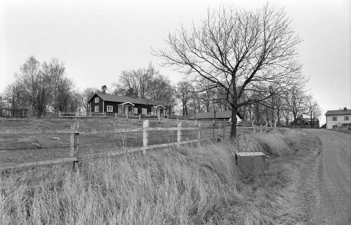 Bostadshus och källare, Säby 6:1, Säby, Danmarks socken, Uppland 1978