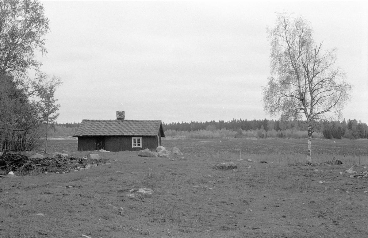 Vy över Ängsholmen, Bälinge socken, Uppland 1983