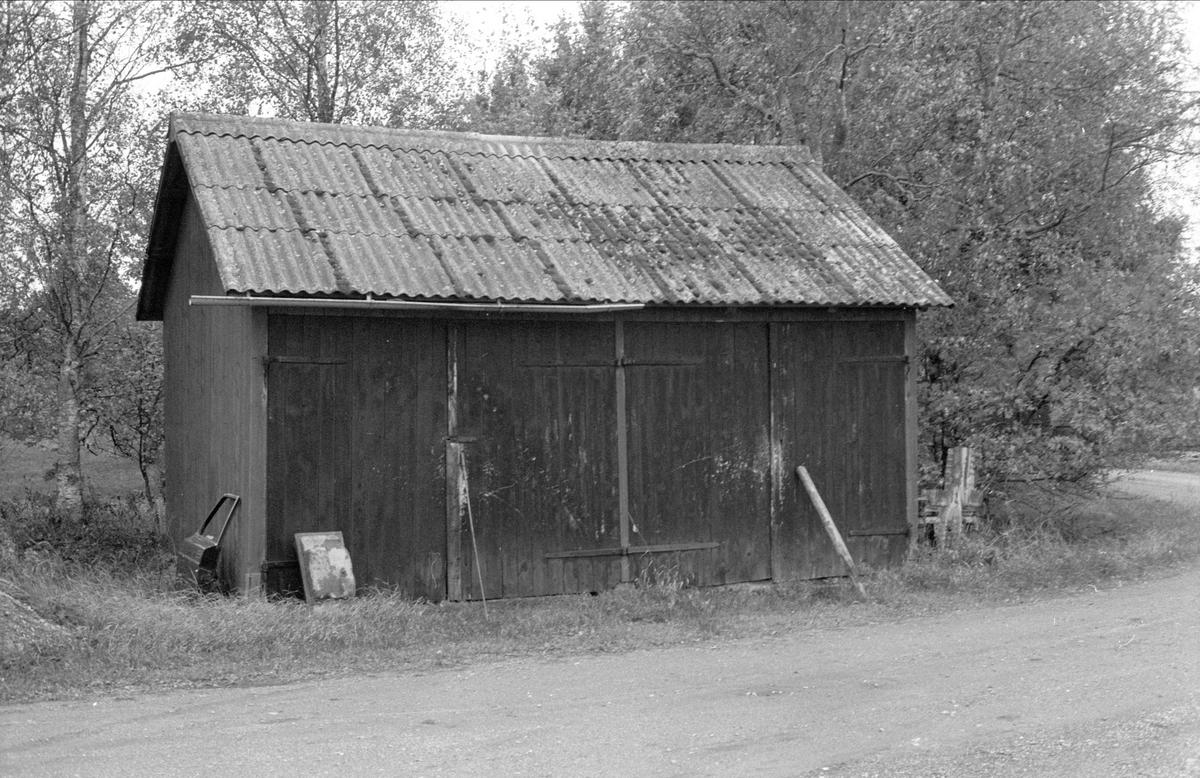 Garage, Ängsholmen, Bälinge socken, Uppland 1983