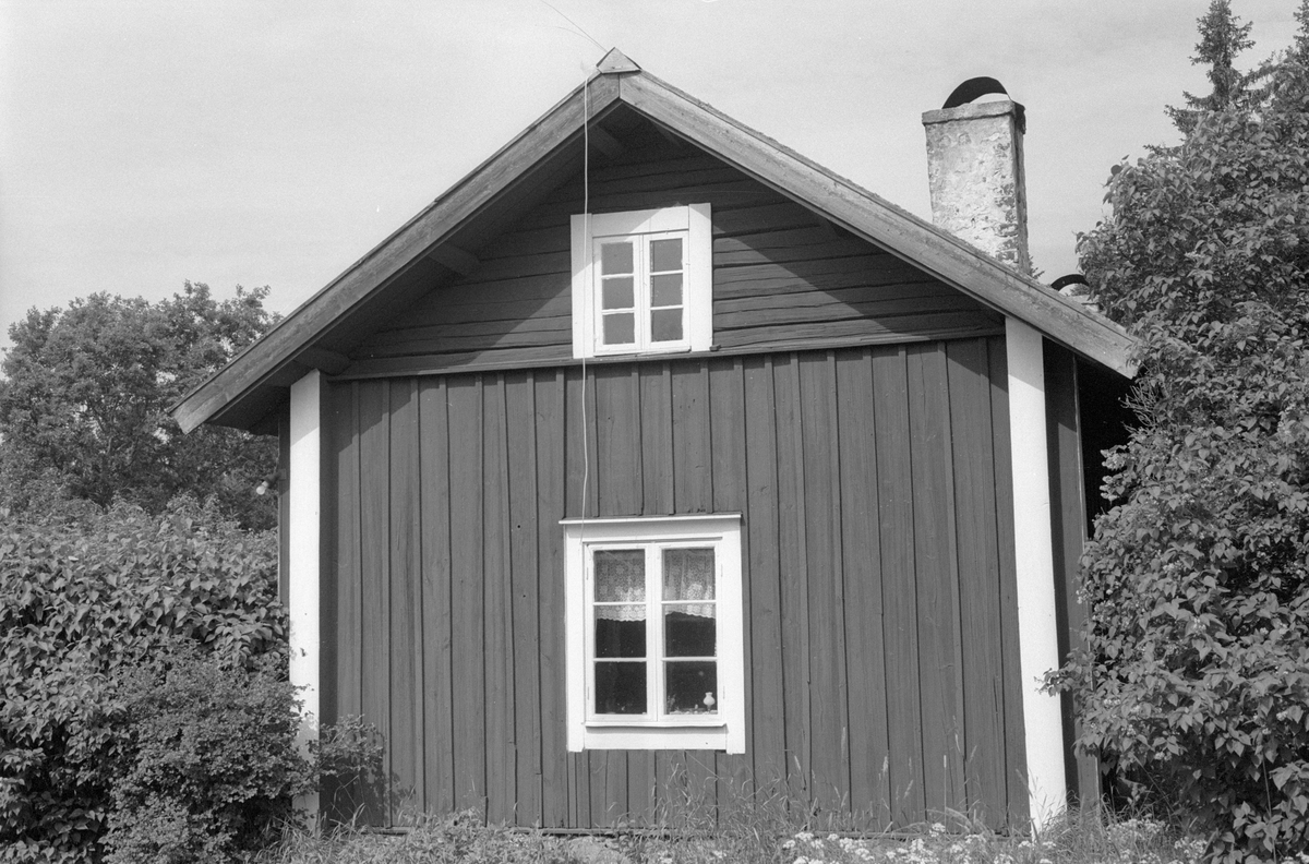 Bostadshus, Svanbol 1:1, Svanbol, Knutby socken, Uppland 1987