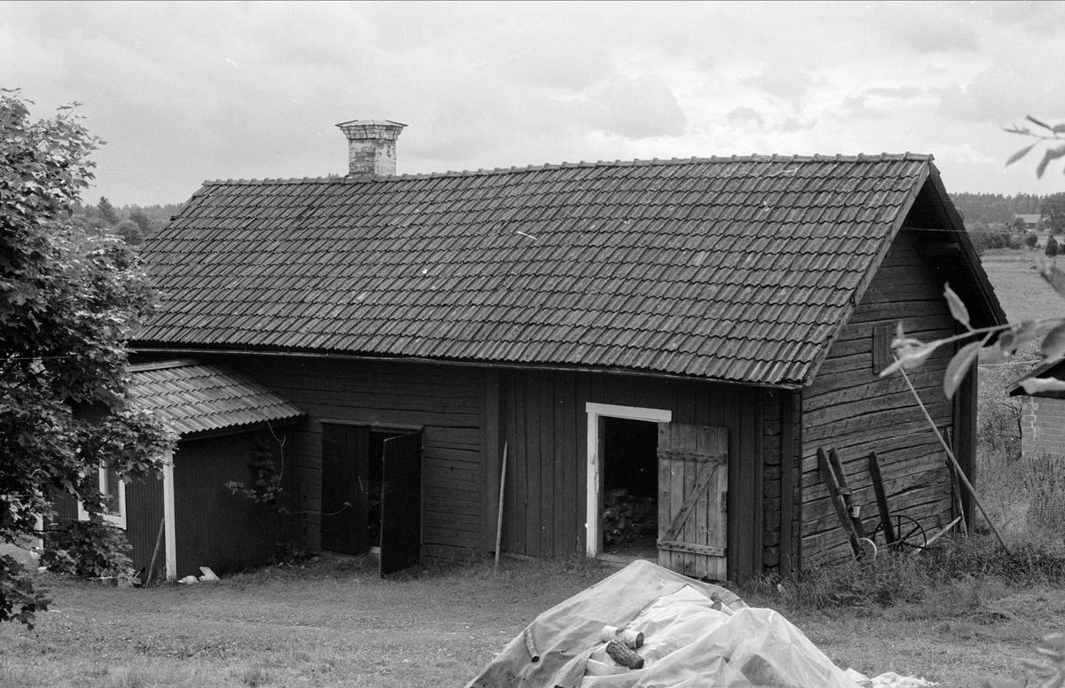 Bostadshus, Ola 4:22, Bladåkers socken, Uppland 1987