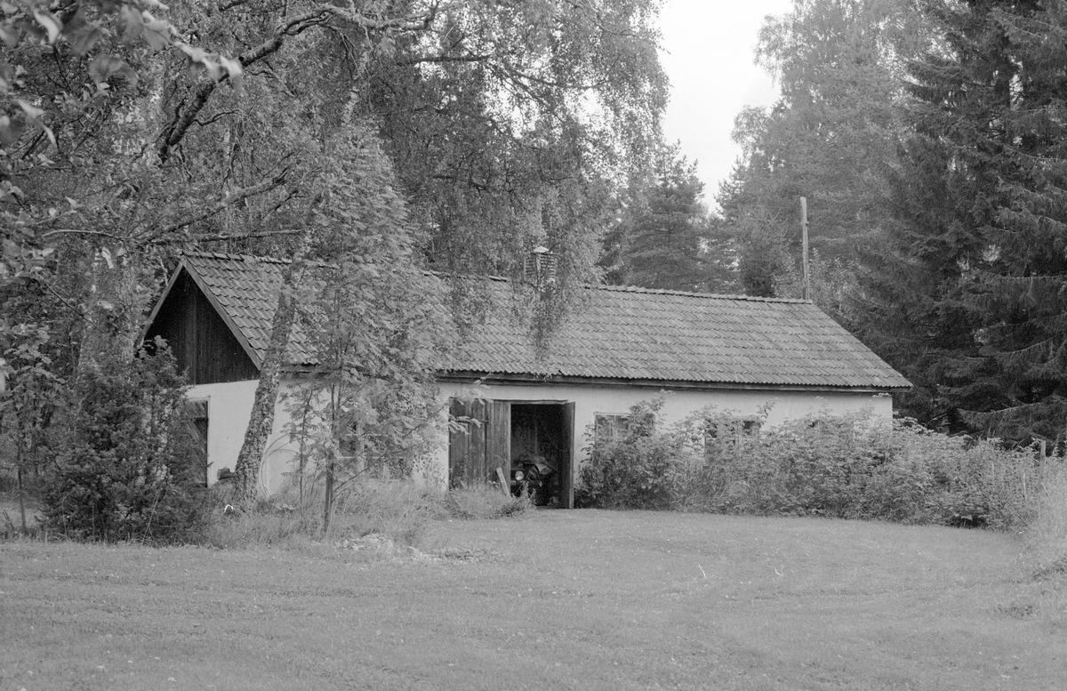 Uthus, Björklid, Kolsta, Knutby socken, Uppland 1987