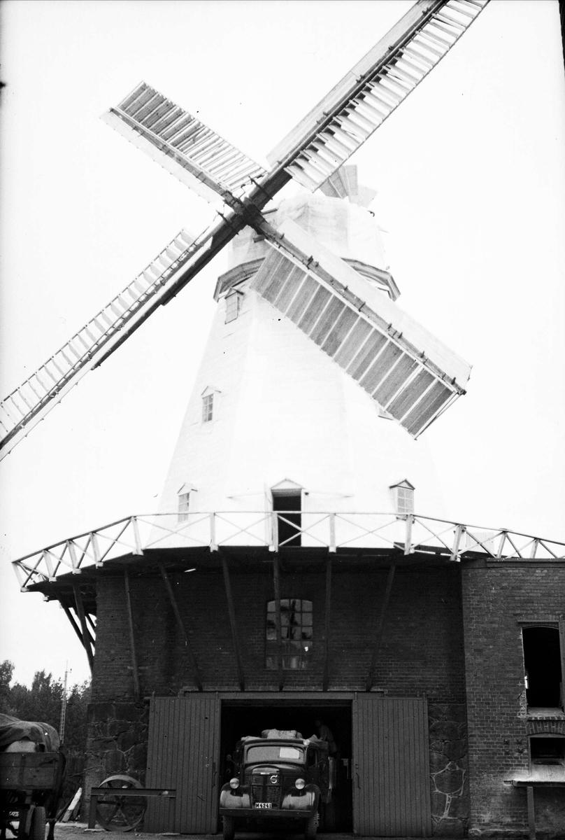 Flyg - väderkvarn, Sjöbo, Skåne 1947