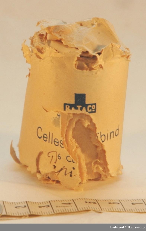 Papiremballasje med gas