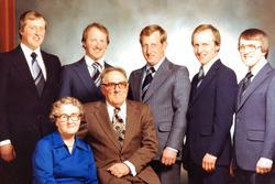 Familiebilde Petersen, Audnedal.
