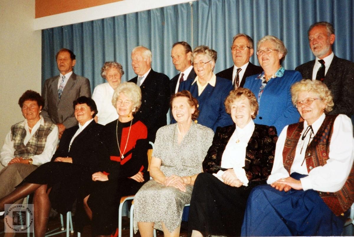 50 års konfirmanter Grindheim Bjelland.